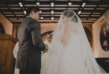 Nadia & Edo Wedding Ceremony by ATIPATTRA