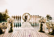 Natalie and Eugene wedding at Conrad Koh Samui by BLISS Events & Weddings Thailand