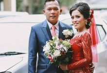 Nelly and Clint Wedding by Solo Baru Int. Tailor