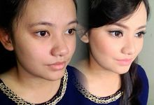 Before & After by Yenny Makeup Artist