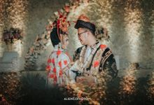 THE WEDDING KELSAY & KHOIRUL by alienco photography