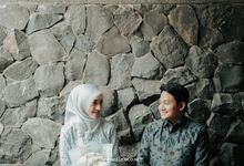 THE ENGAGEMENT OF DIMAS & RANITA by alienco photography