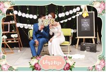 The Wedding Of Lily & Riza by Indigo Photobooth