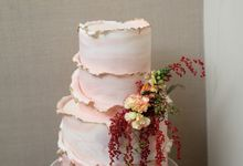 The Wedding Celebration of Celia & Erwin by KAIA Cakes & Co.