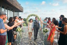 Wedding Lee & Mayuko - 19 August 2018 by Anantara Seminyak Bali Resort