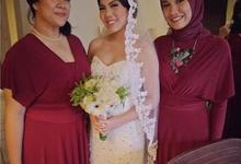 NICOLA TYO WEDDING by bridestore indonesia