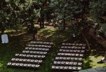 Outdoor Wedding Service by Villa dei Cipressi