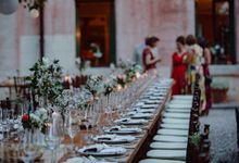 Outdoor Wedding Service by Villa dei Cipressi