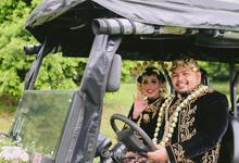 Ryan & Mega Wedding  by Nikahsamakita