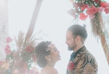 Wedding Niken & Luke by Bali Izatta Wedding Planner & Wedding Florist Decorator
