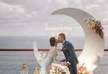 Wedding Asheeq & Vira by Bali Izatta Wedding Planner & Wedding Florist Decorator
