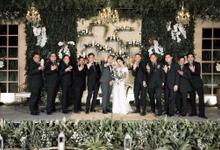 Rustic Garden wedding by Nina Nasution