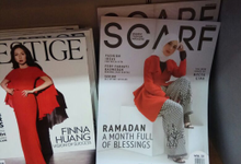 Scarf magazine  by Nina Nasution