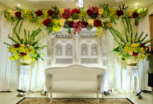 Pengajian, Siraman, Akad Nikah Vitasha & Ferdi by Niqs Project Decoration
