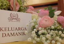 50th Wedding Anniversary  by Niqs Project Decoration