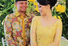 Ikke & Bimo Engagement by Niqs Project Decoration