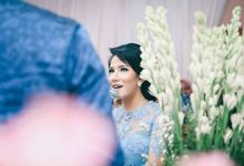 Paper Blue Engagement for Ageng & Nissya by Warna Project