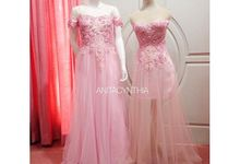 Sweet Pink Sister's Gown by Anita Cynthia Couture
