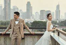 Naldo & Lusi by Orange Wedding Planner