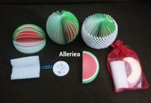 Fruit Memo by Alleriea Wedding Gifts