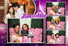 Ron And Mae Wedding Booth by Giggle N Smile Photobooth - Iloilo