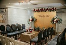 Meti & Reza Engagement by Nona Manis Creative Planner