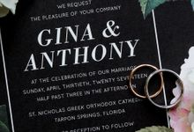 Gina & Anthony by Nonesuchnyc