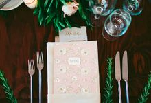 Personalized Wedding Favors by Belle Pivoine