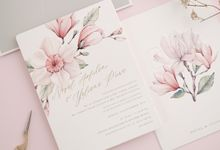 MY PROMISE TO YOU by BloomingDays Invitation Studio