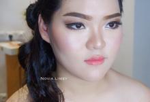 Bridesmaids Make up & Hair do 15 Sept 2018 by Novia Limey Make Up Artist