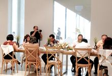 Novi & Enrico Engagement by Surabe Catering