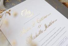 Andi Michelle  by Novitawjya Calligraphy