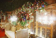 Garden Inspired Javanese Wedding by Sentra Bunga Decor