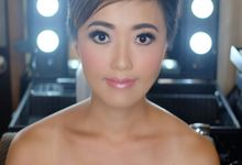 Asian Bride from Hongkong by Beyond Makeup Indonesia
