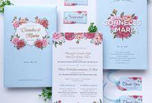 Corneles + Maria by Caramel Card