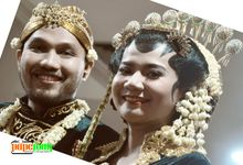 the wedding Nindy & Ridho by papenian