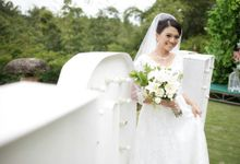The Wedding Of Monna & Dennis by MarisaFe Bridal