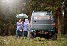 Prewedding Tia & Defik by Agoya Photography