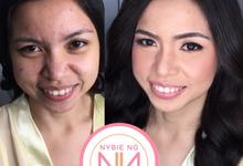 Bride : Virna ❤️ by Nybie Ng Make Up Artistry