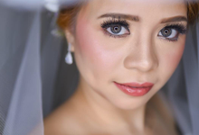BRIDE: Chammy ❤️ by Nybie Ng Make Up Artistry