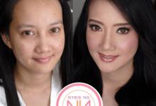BRIDE: Tinay ❤️ by Nybie Ng Make Up Artistry