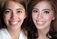 Bride: Angela ❤️ by Nybie Ng Make Up Artistry