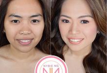BRIDE: Mariel ❤️ by Nybie Ng Make Up Artistry