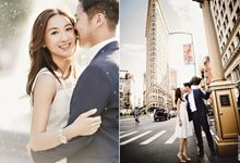Around the NYC Pre-Wedding Session by ein Photography & Design