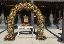 Amarterra villa wedding decor by Jc Florist Bali