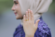 The engagement of Nindy & Muthy by NYZ PHOTOGRAPHY