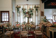 Intimate Wedding VIVIN & ARINDRA by adamhawa
