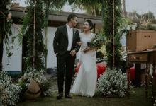 Aussie and Kemal Wedding by Rumah Jahit Bhajoo