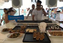 Wedding Anniversary party at VIBE Boat Club by Asia House Catering
