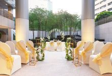 Outdoor Solemnisation by Oasia Hotel Novena, Singapore